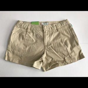👖 CIRCO kid's khaki cotton shorts, uniform NWT